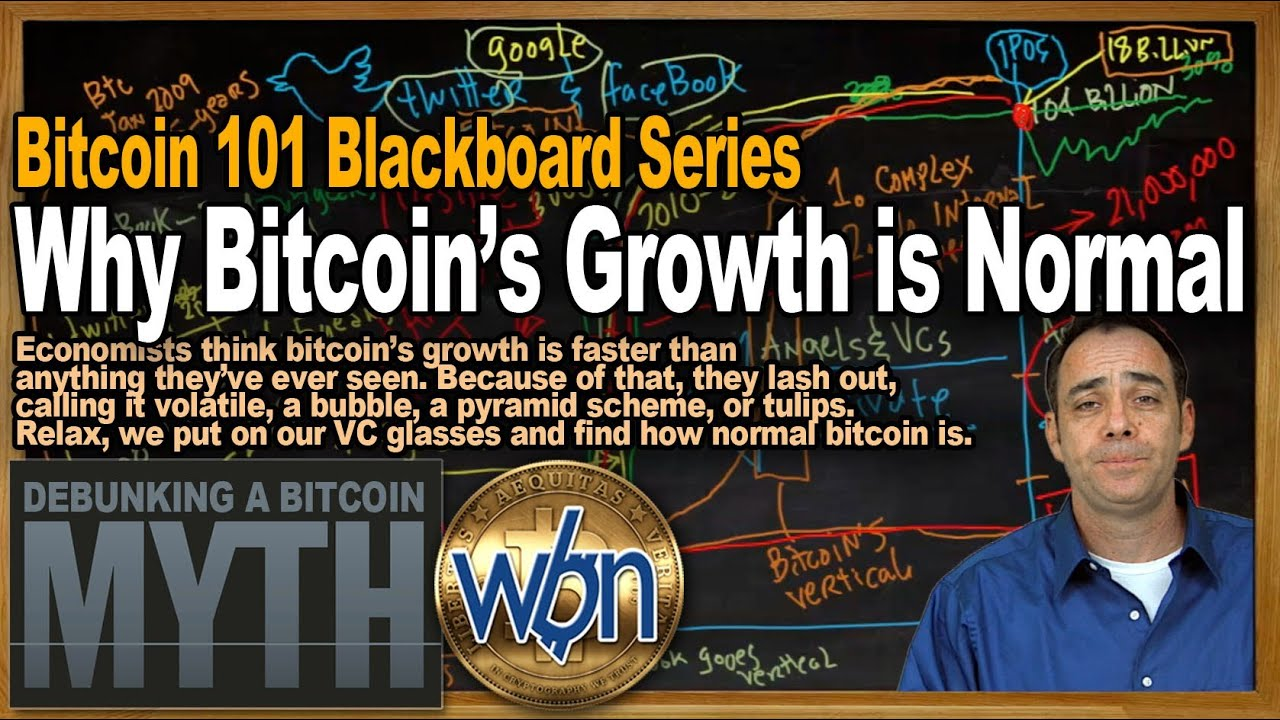 Bitcoin 101 - Why Bitcoin's Growth is Normal & The S-Curves You Could Never See