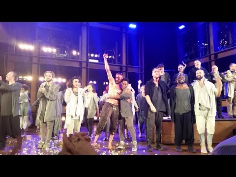 Jesus Christ Superstar 2017 Final Curtain Call with the Cast and the Band at Open Air Theatre (HD)