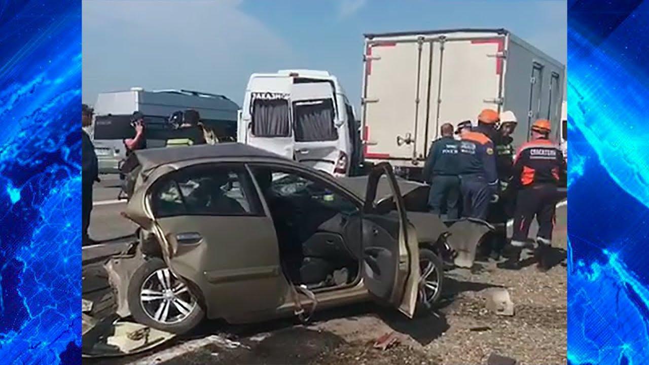 Տեսանյութ.  Ստավրոպոլի երկրամասում 6 ավտոմեքենաների բախումից տուժած 6 քաղաքացիներից 4-ը հայեր են