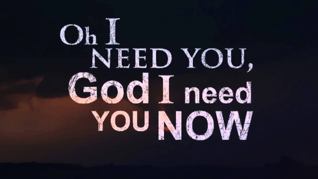 I need you more today - Caleb Santos (Lyrics Video) - YouTube