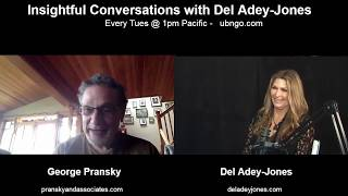 Dr. George Pransky on Insightful Conversations with Del Adey-Jones