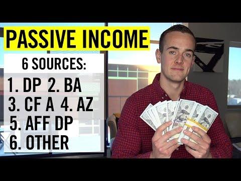 6 Passive Income Streams: $29,000 In 30 Days [PROOF]