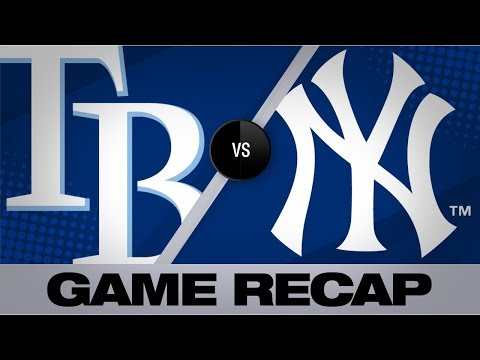 Gregorius lifts Yankees with a 2-run single | Rays-Yankees Game Highlights 7/18/19