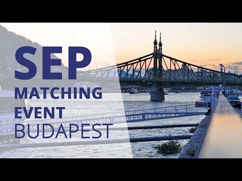 SEP Matching Event | Budapest 2015
