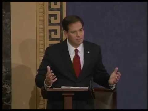 "On Senate Floor, Rubio Challenges President & Senate Democrats On ""Cut, Cap & Balance"""