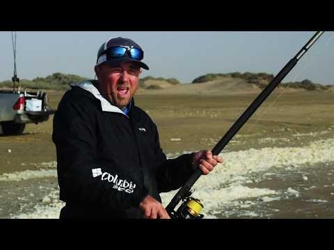 Wesley Peens Light Tackle Surf Fishing