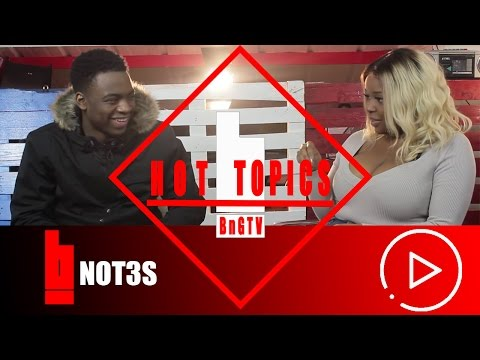 Not3s - Meaning Behind The Name, Make Songs About Girls, Addison Lee | HOTTOPICS | BnG.TV