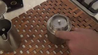 Итальянская гейзерная кофеварка BARETTi GiPFEL.Турка.Как правильно варить кофе.
