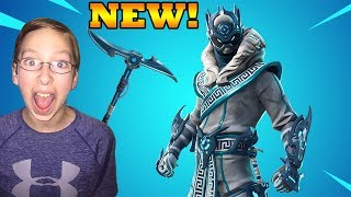* NEW* NINJA SNOWFOOT SKIN FORTNITE GAMEPLAY | CollinTV Gaming