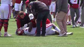 OU Football - Trey Sermon injury