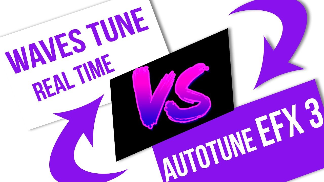 Waves Tune Real Time VS AutoTune EFX 3