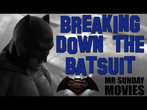 Breaking Down The BATSUIT