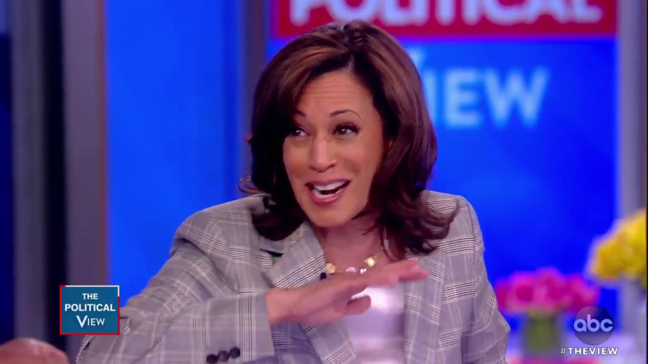 Sen Kamala Harris On Dem Infighting And Beating Trump The View Youtube