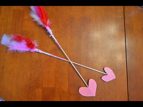 How To Make Valentine S Day Cupid S Arrows Youtube