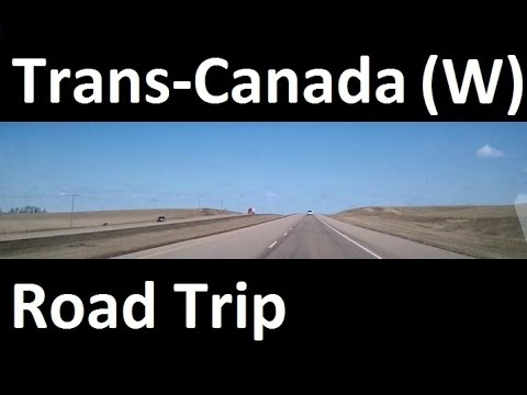 Trans-Canada Road Trip: Toronto to Vancouver in 90 minutes
