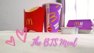 My 1st Impression of BTS Meal 😍