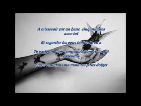 Le Mistral Gagnant Renaud, lyrics français