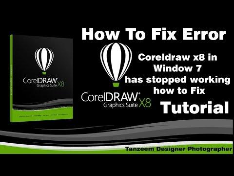 Windows 7 Corel Draw X8 Installation Guidelines Problem In Hindi
