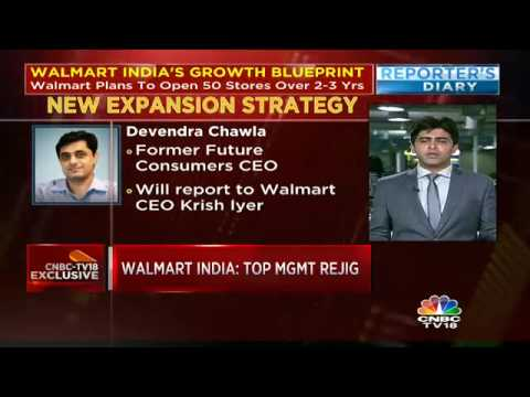 Top Management Rejig At Walmart India