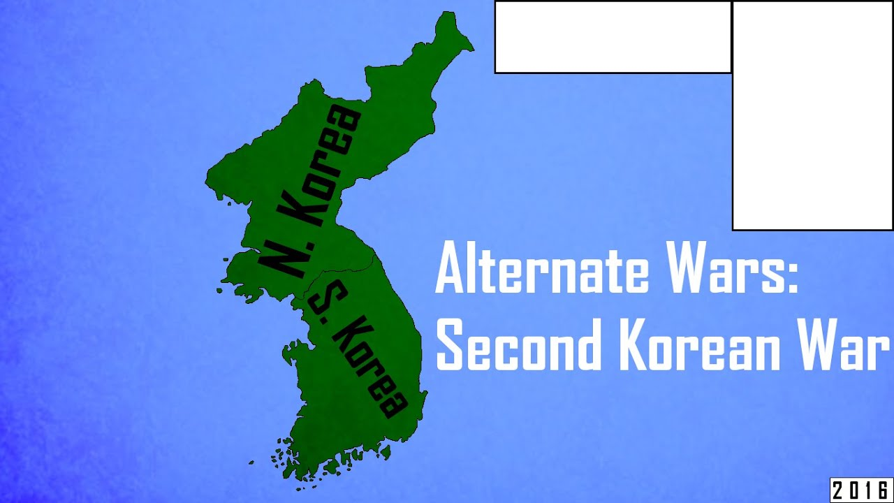 Alternate wars second korean war fluid map youtube gumiabroncs Image collections