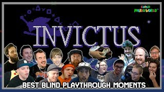 Invictus - Best Blind Playthrough Moments [SMW Kaizo Hack]