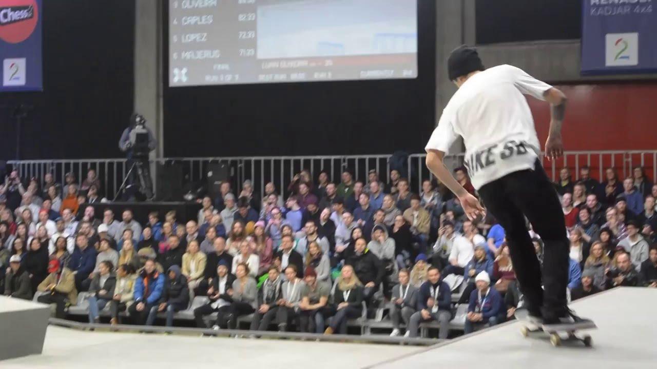 Roller skating x games - X Games Oslo Men S Skate Street Finals Luan Oliveira