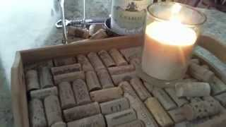 "My Creative Video ""up-cycled Cork Wine Tray"" For Edenssecret's Competition 2012"