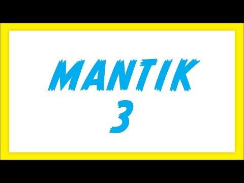 Mantik 3 Şenol Hoca Matematik