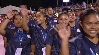 OPENING CEREMONY HIGHLIGHTS SAMOA 2019 XVI PACIFIC GAMES