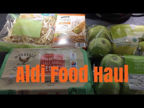 Aldi Food Shopping Haul /Slimming world friendly