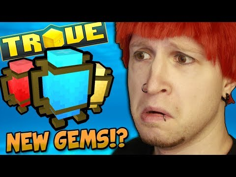 TROVE DEVELOPERS HINT AT CHANGING GEMS IN FUTURE UPDATE! POSSIBLE NEW TIER!?