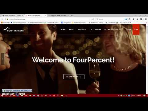 Four Percent Group Review - Results | Live Payment On ClickBank | Live 4% Dashboard -2017-2018