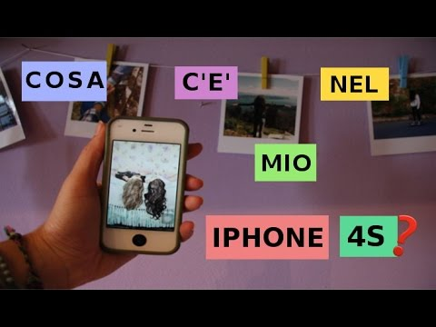 Cosa c'è nel mio iPhone 4s ?// What's on my iphone ? //marlefimo