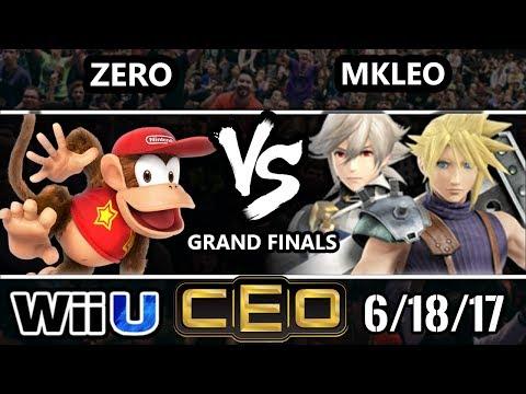 CEO 2017 Smash 4 - FOX MVG   MKLeo (Cloud, Corrin) vs TSM   ZeRo (Diddy Kong) WiiU GF