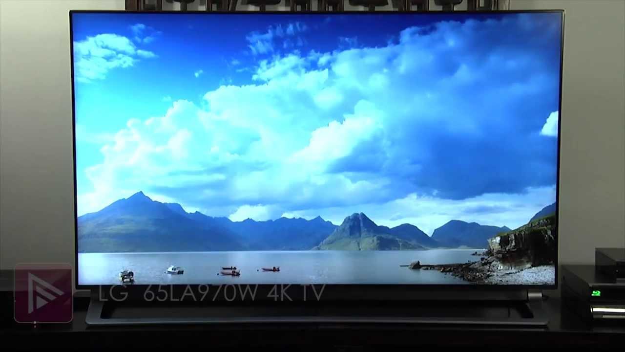 LG 65LA970W 4K Ultra HD TV Review - YouTube