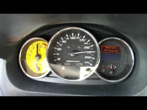 Renault Mégane RS Trophy 0-250 km/h (Motorsport)