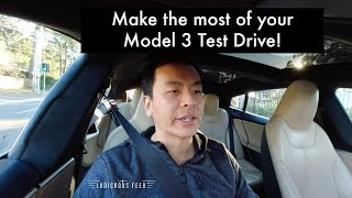 Make the most of your Model 3 Test Drive!