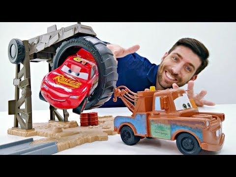 Vidéo de la Garderie de Romain № 18: McQueen et amis construisent une autoroute