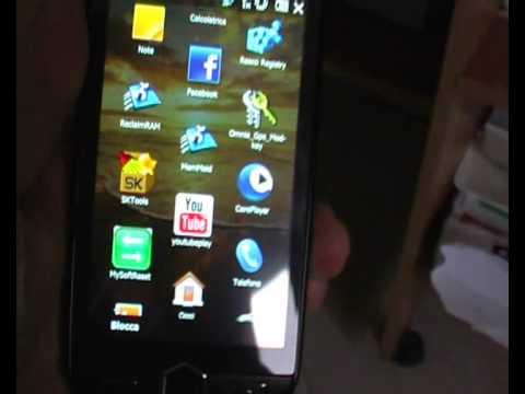 Samsung i8000 Omnia 2 demo