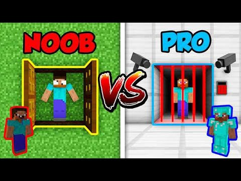 Minecraft NOOB vs. PRO: PRISON ESCAPE in Minecraft!