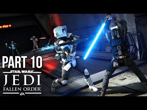 Star Wars Jedi Fallen Order Gameplay Guía Parte 10 - ATTICUS REX (Juego completo) + vídeo