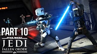 Star Wars Jedi Fallen Order Gameplay Walkthrough Part 10 - ATTICUS REX (Full Game)