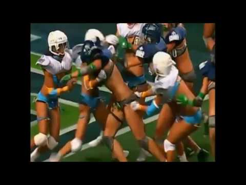Women lingerie football league clothe malfunctions