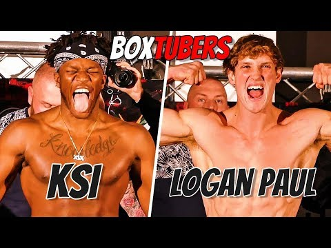KSI vs LOGAN PAUL FIGHT TODAY! WHO YOU GOT WINNING!?   BoxTuber