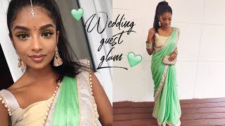 GRWM Indian/Tamil Wedding Reception Get Ready with Me | Nivii06