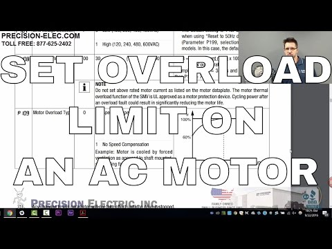How To Calculate And Set Motor Overload In The SMV Variable