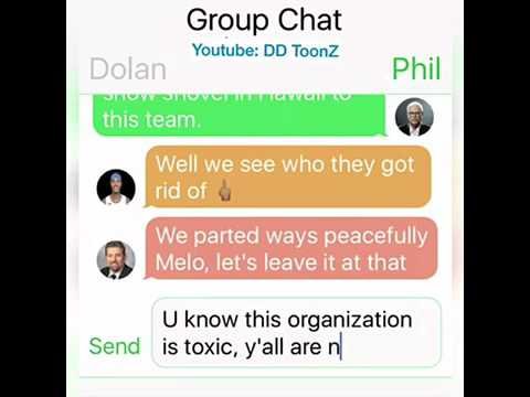 Knicks Offseason Group Chat