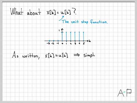 Discrete-Time Signals and Systems Part 1 (6/10) - Simply-Defined and Piecewise-Defined Signals