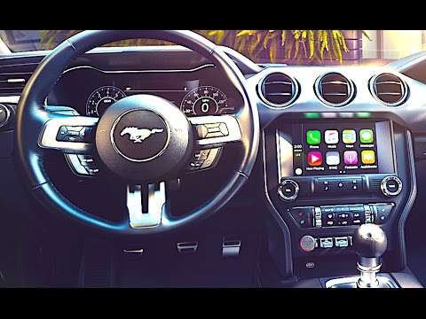 New Ford Mustang Interior
