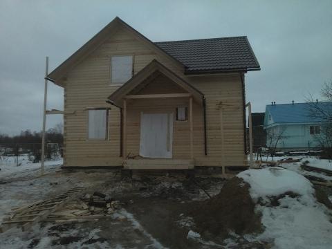 Дом из бруса 6х9 Под усадку